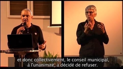 Conférence de Stéphane Lhomme à Poitiers – y compris pour malentendants