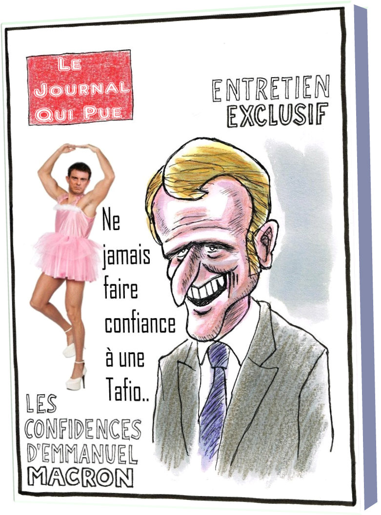 Le Journal Qui Pue (Humour)