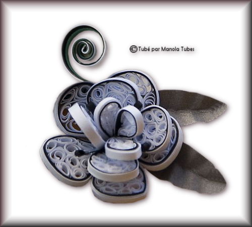 Tubes Quilling Arts floral 2997