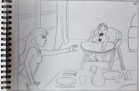 Les dessins qu'on m'a offerts