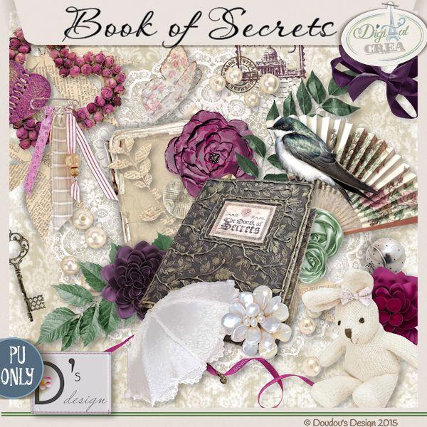 Book of Secrets by Doudou's D