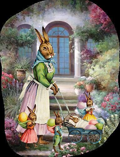 Animaux de Pâques Série 7