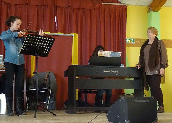 Le Téléthon proposé par l'école de Musique de  Laignes a eu un grand succès
