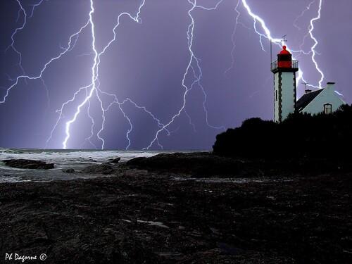 Groix... Jour d'orage...