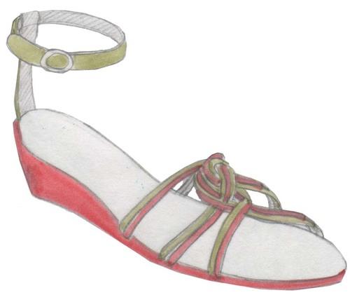 sandales, sandals