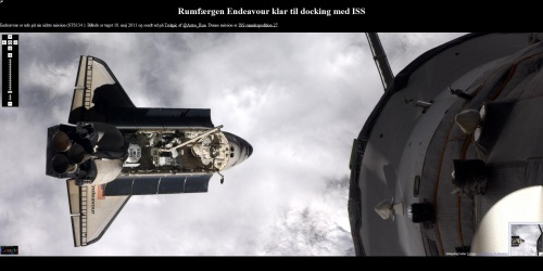 Amarrage Endeavour / ISS
