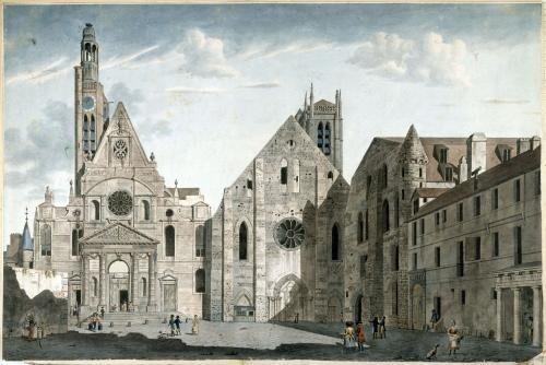 Eglise saint-Etienne-du-Mont à Paris