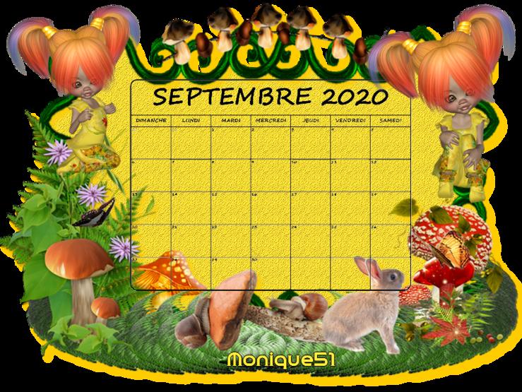 Vive septembre la rentrée et Automne !