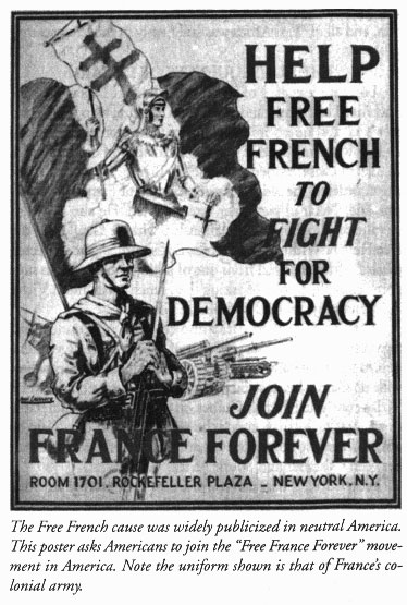 "Comité FFL aux USA : ""France For Ever"" : affiche"