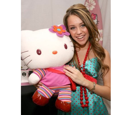 Hannah montana et hello kitty