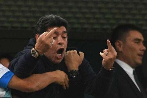 """""""FIFA"""" denounced """"Maradona"""" critic referee game """"Colombia"""" found """"England"""""""