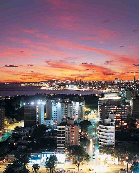Uruguay Montevideo small