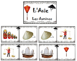 Vocabulaire - L'Asie