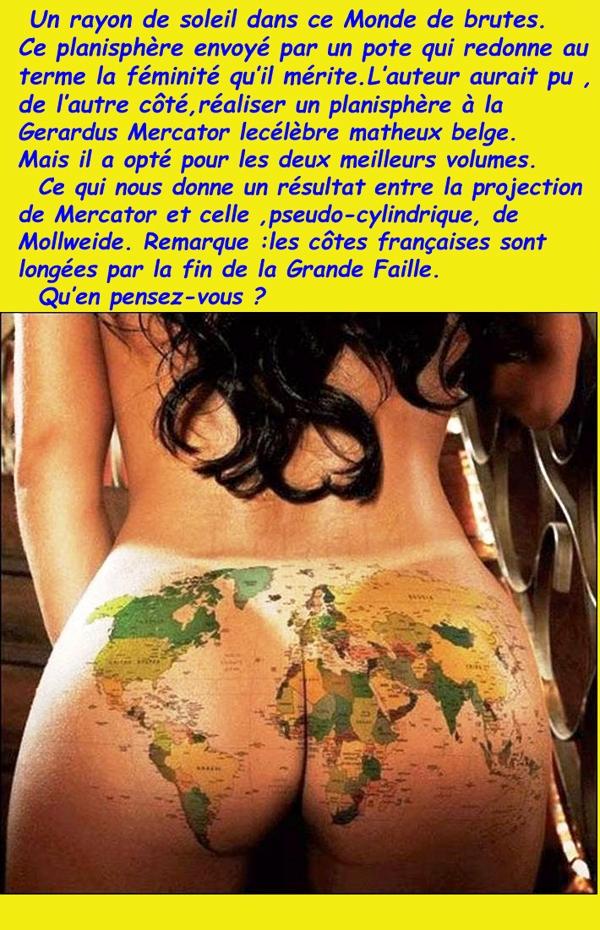 Projection de Mercator/Géographie