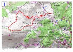 Le Pic des Mauroux (2.137 m) depuis la Mollera dels Clots (Font-Romeu)