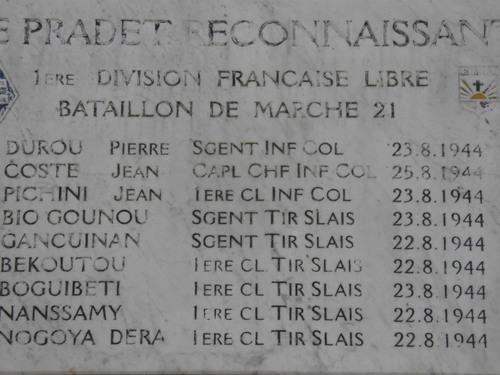 * 22 Août - LE PRADET a commémoré sa Libération