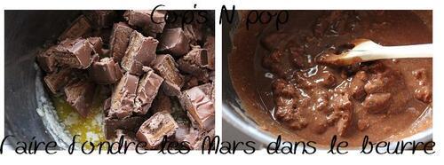 """Tarte croquante """"petit-dej"""" au Mars"""