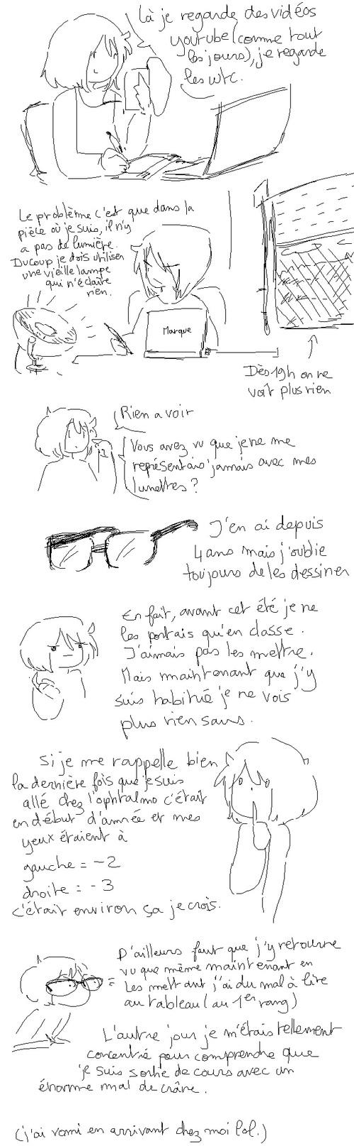 Blabla #3 Lumière et lunettes