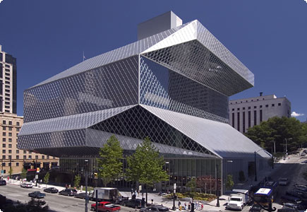 Bibliothèque Seattle.