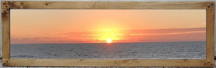 Un classique... Le coucher de soleil