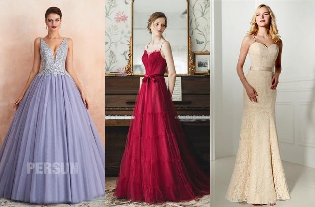 robe pour mariage colorée 2020