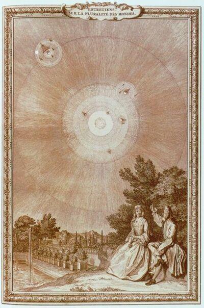 Fontenelle ( 1657 - 1757 ) - Entretiens sur la pluralité des mondes