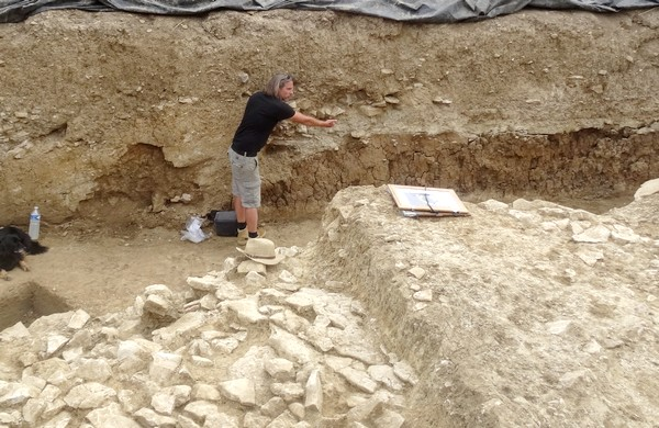 Les adhérents de la Société Archéologique et Historique du Châtillonnais ont visité le chantier 2016 des fouilles de Vix