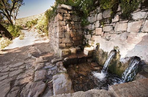 la fontaine de l'inca