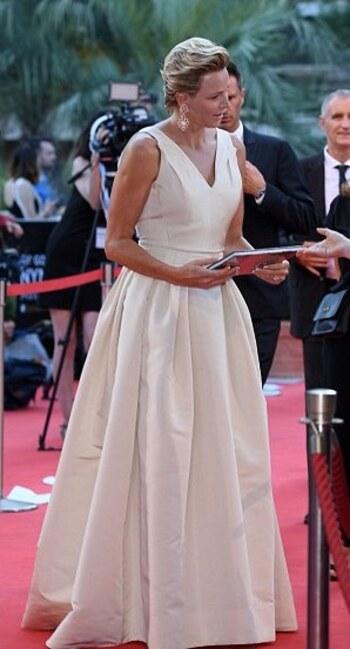 Charlène au 58 eme festival TV de Monaco