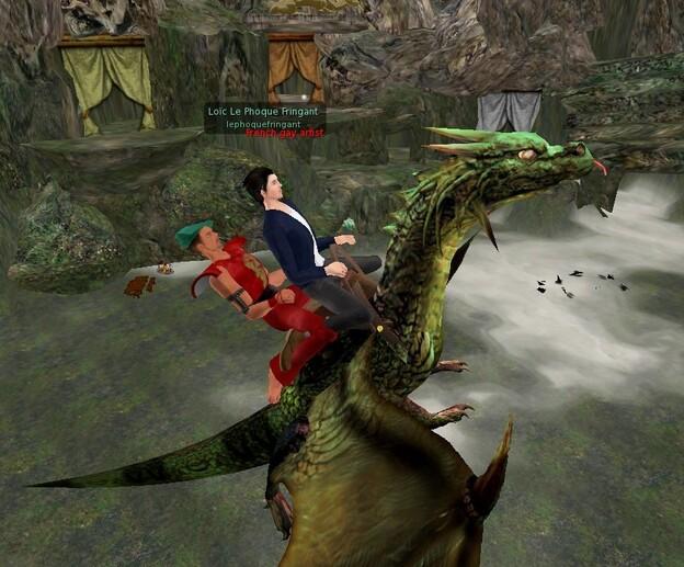 Balade en dragon avec Loïc