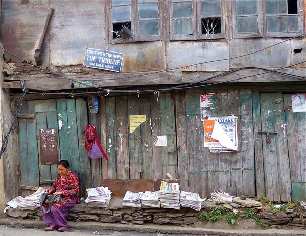 métiers de rue en Inde