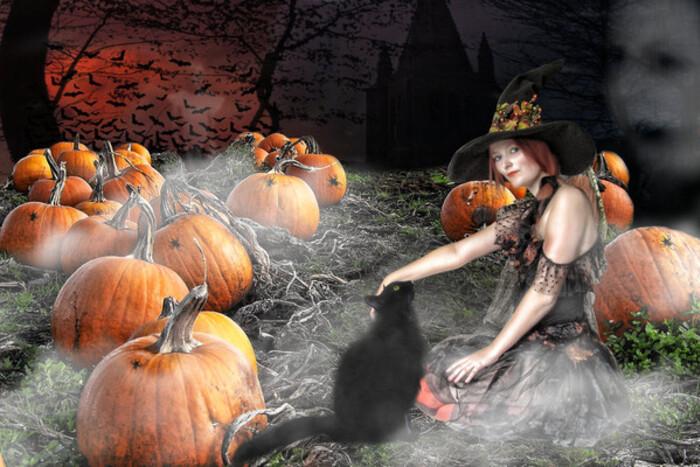 Page Halloween merci