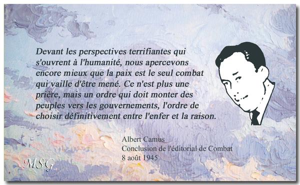 Aujourd'hui Albert Camus aurait eu 100 ans