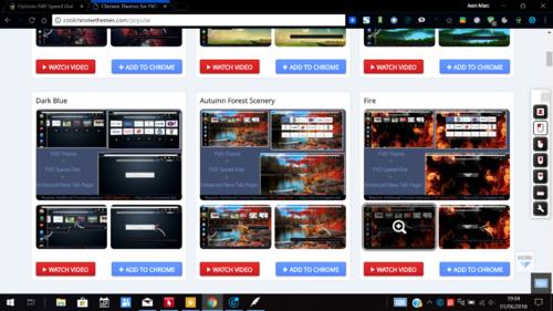 Chrome, une page d'accueil une page d'accueil plus fonctionnelle