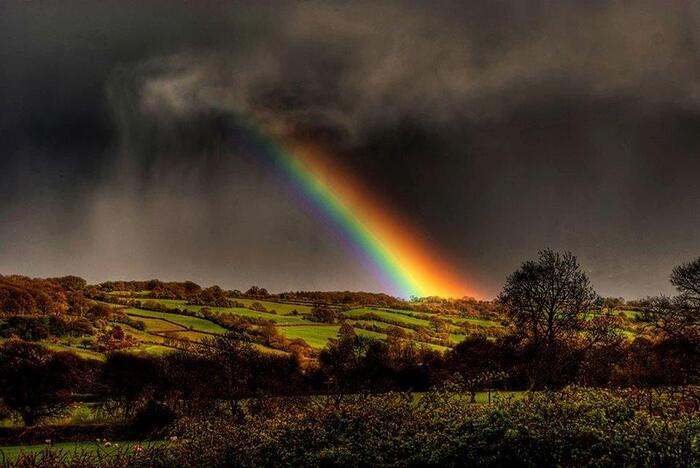 Quadruple Arc-En-Ciel -  L'Image Magique & Fascinante