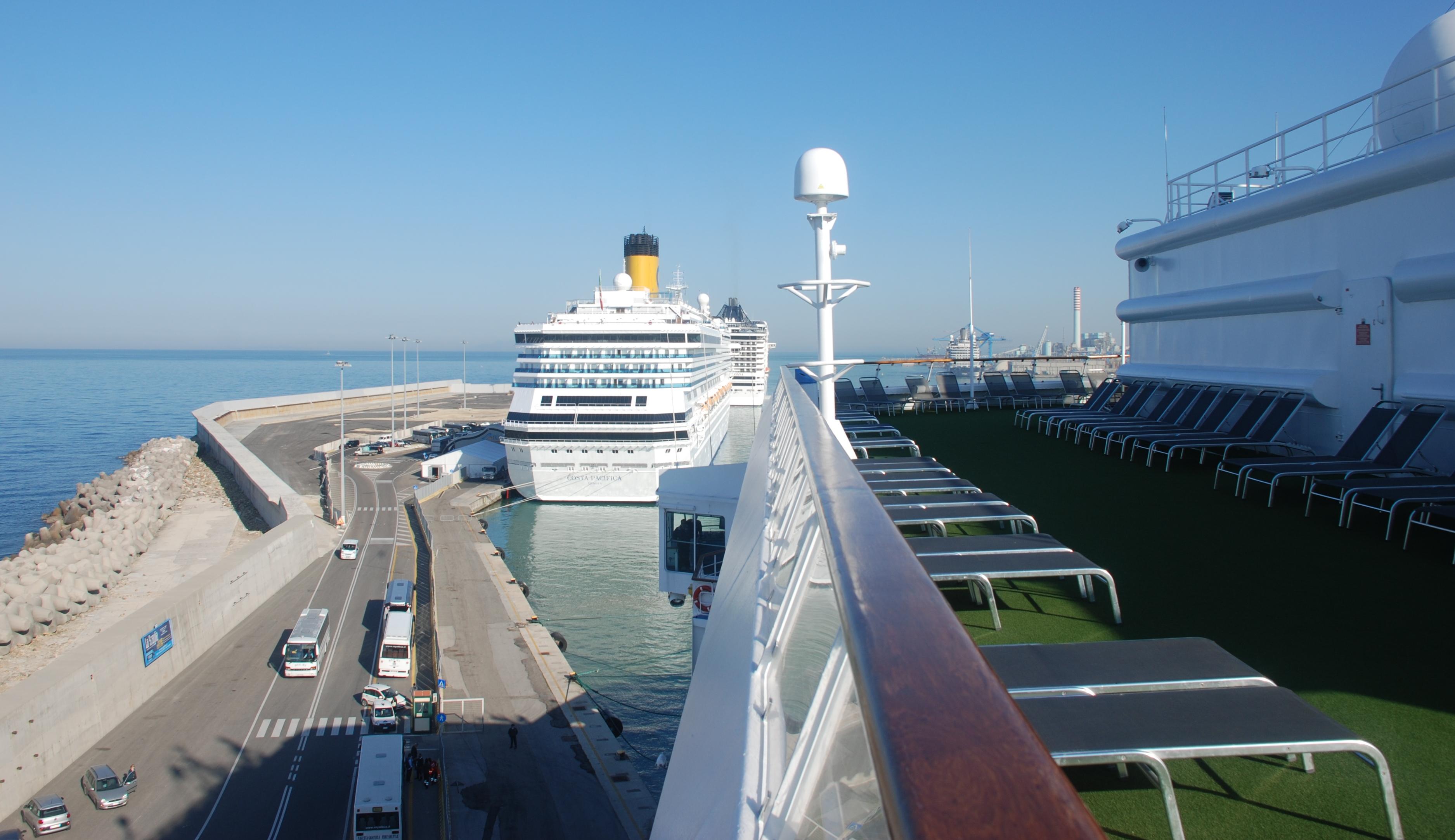 Escale civitavecchia rome en train et visite de la - Comment aller du port de civitavecchia a rome ...