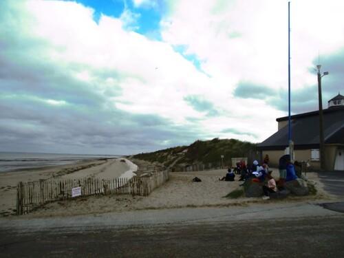 Observation de la plage de Gouville