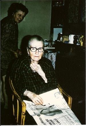 Hommage a ma grand mère, mémé Hélène..