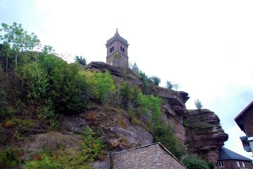 Le rocher de Dabo et sa chapelle