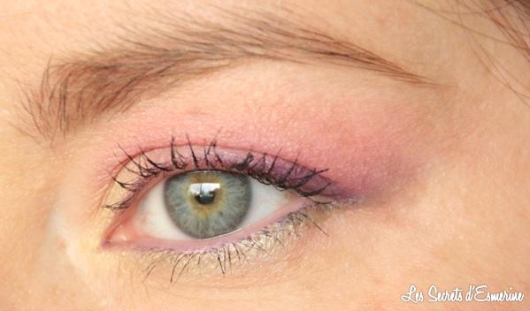 maquillage, pastel, yeux, makeup, les secrets d'esmerine