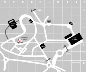plan simplifié fête huma sans noms de rue