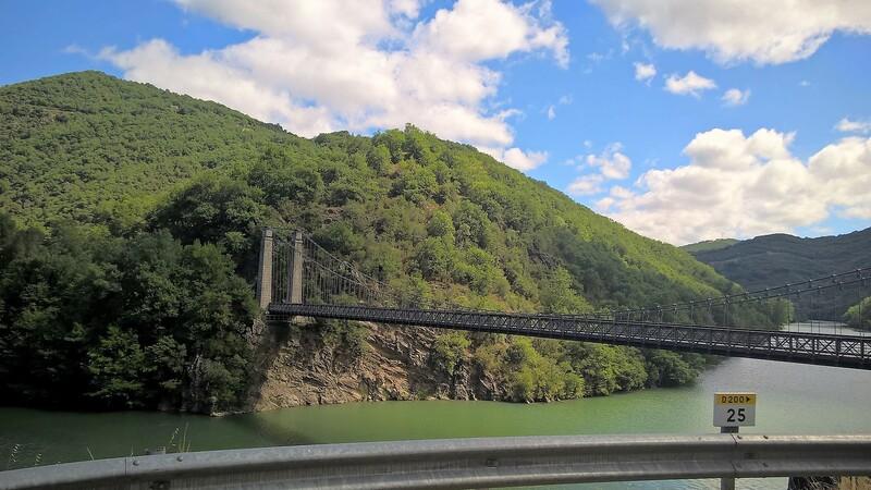 Barrages dans l'Aveyron etc...