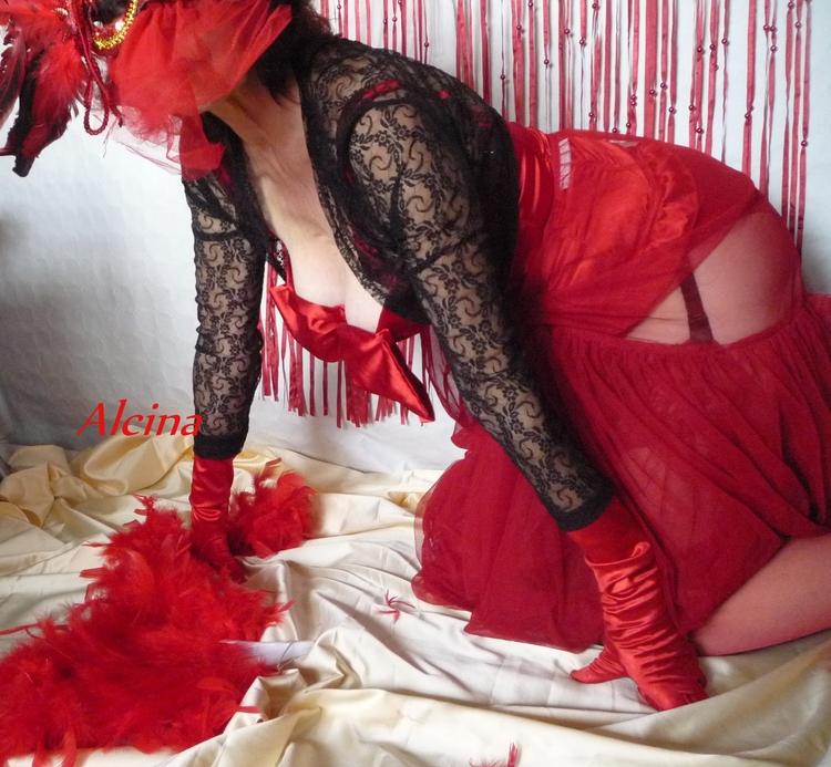 La dame en rouge ♥
