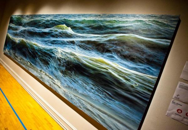 peinture ocen huile realiste 8 Peindre l océan    Ran Ortner