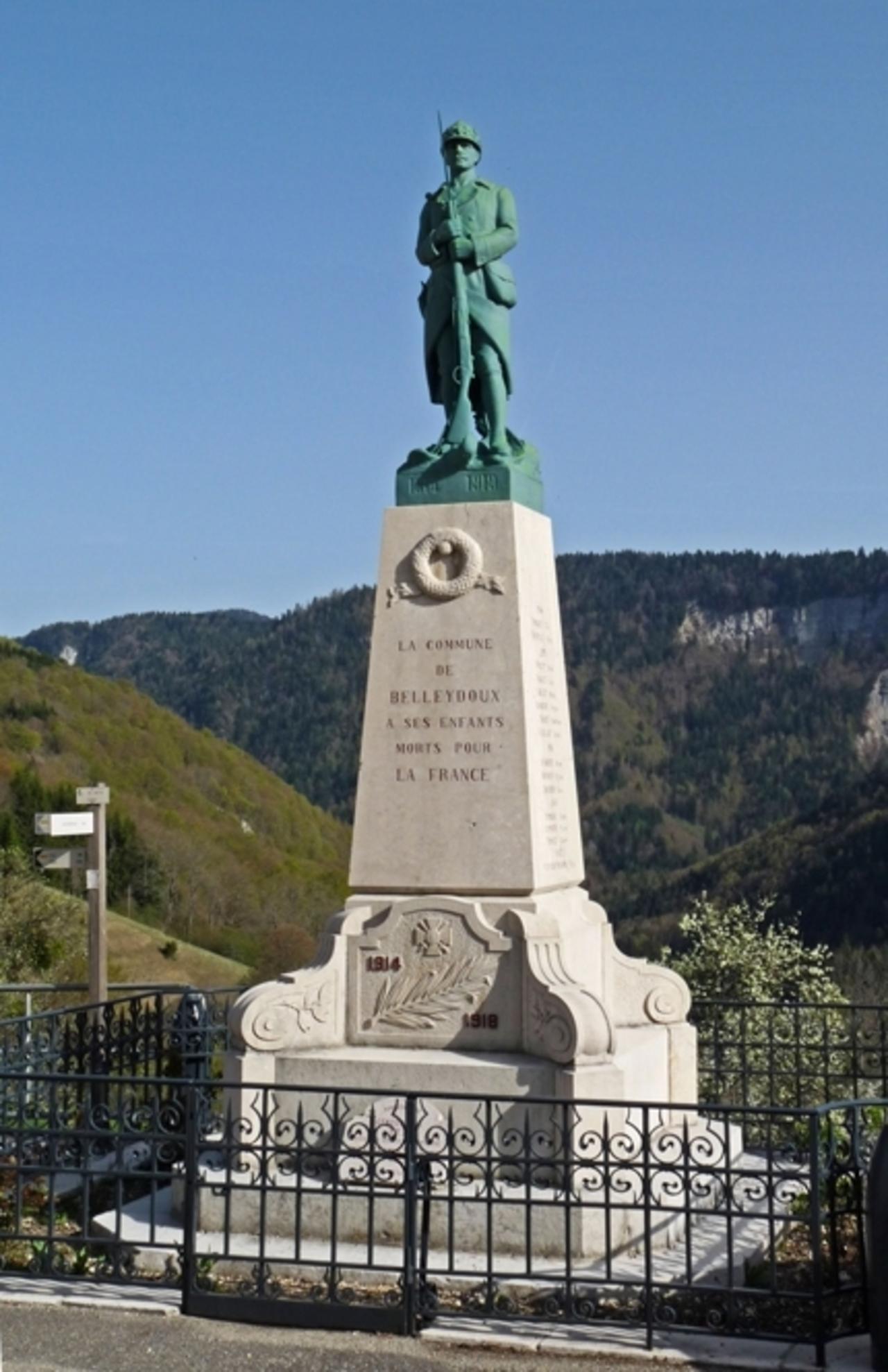 L'Ain - Belleydoux -