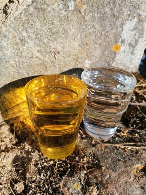 L'eau et l'huile
