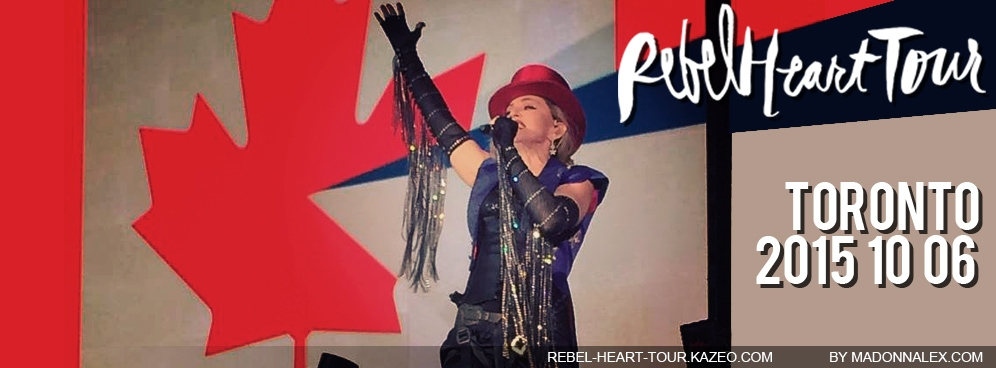 Madonna - The Rebel Heart Tour Toronto 10 06