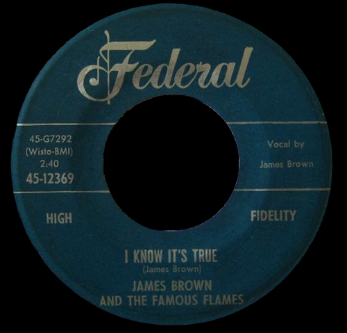 1960 James Brown & The Famous Flames Federal Records 45-12369 [ US ]