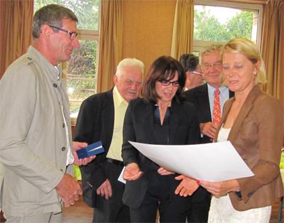 Trois anciens élus honorés par la commune
