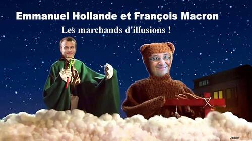 Les guignols de la France !